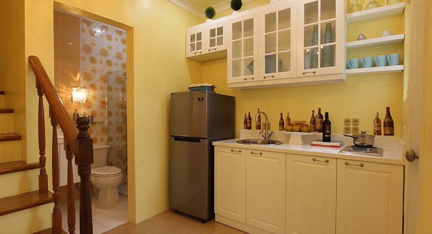 Adelle Townhouse Kitchen at Lancaster New City Cavite