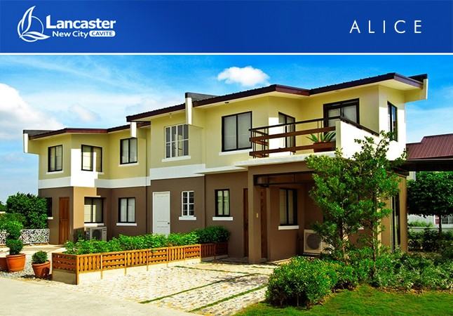 Alice - Townhouse Model - Lancaster New City Cavite